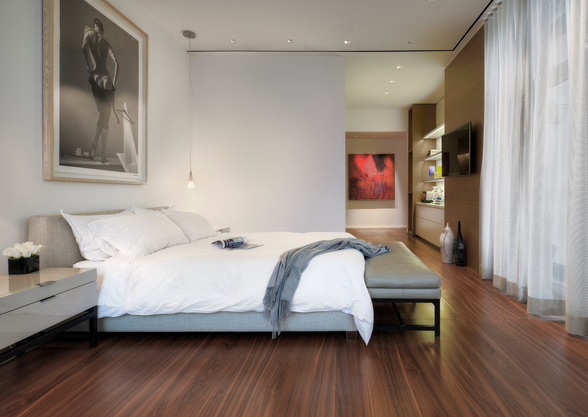 Bedroom, Art, Yorkville Penthouse II in Toronto, Canada by Cecconi Simone