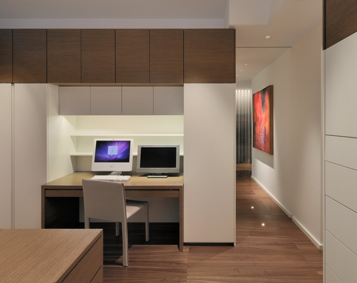 Home Office, Yorkville Penthouse II in Toronto, Canada by Cecconi Simone