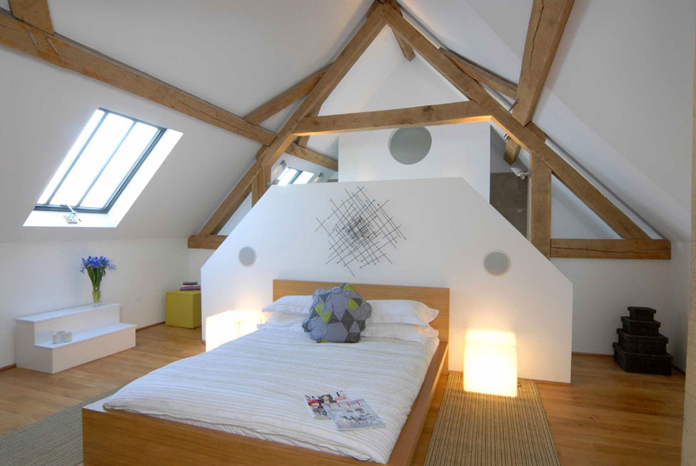 Bedroom 18th Century Barn Conversion In The Cotswolds