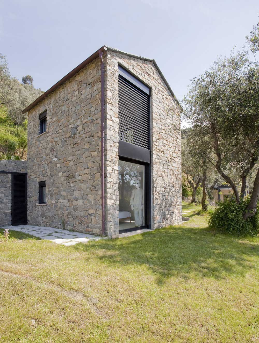 Farmhouse in Riomaggiore, Italy by A2BC Architects and SibillAssociati