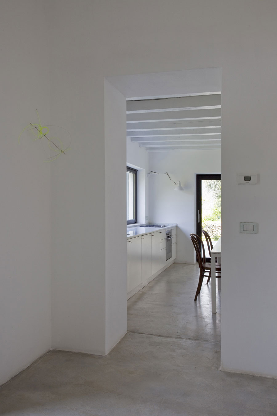 Kitchen, Farmhouse in Riomaggiore, Italy by A2BC Architects and SibillAssociati