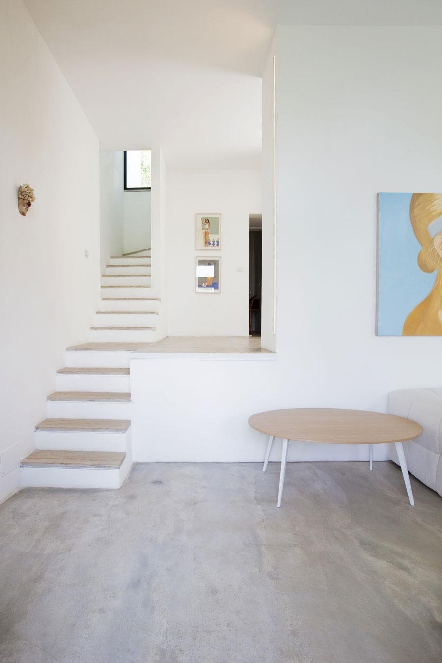 Rustic Staircase, Farmhouse in Riomaggiore, Italy by A2BC Architects and SibillAssociati