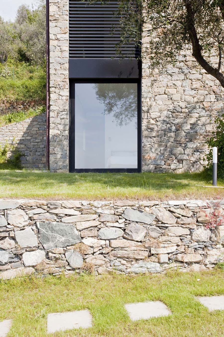 Stone Walls, Farmhouse in Riomaggiore, Italy by A2BC Architects and SibillAssociati