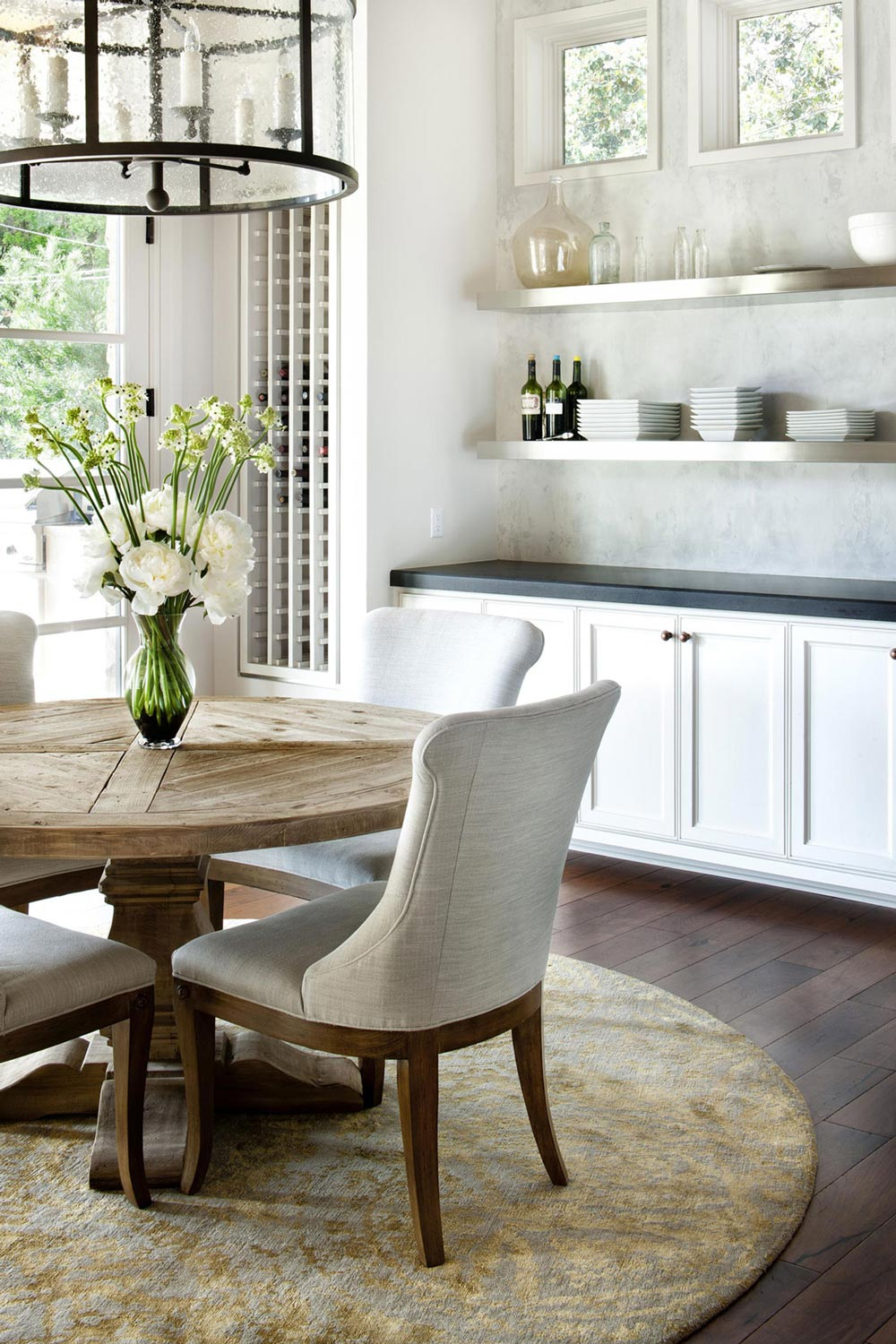 Breakfast Table, Hill Country Modern in Austin, Texas