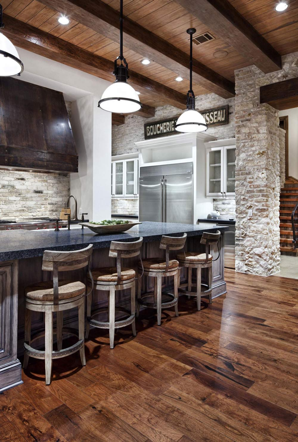 Kitchen, Lighting, Hill Country Modern in Austin, Texas