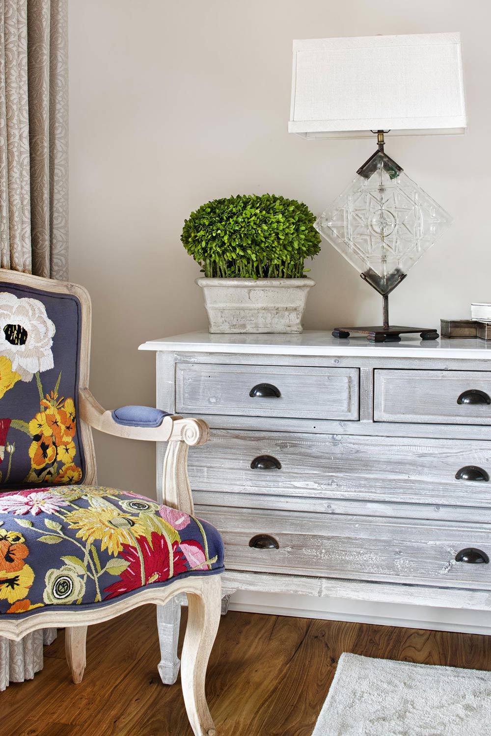 Side Table, Hill Country Modern in Austin, Texas