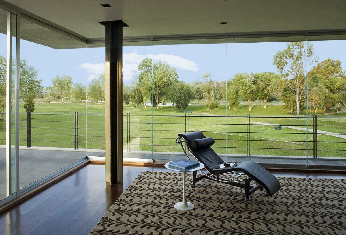 Living Space, Balcony, Views, GP House in Hidalgo, Mexico by Bitar Arquitectos