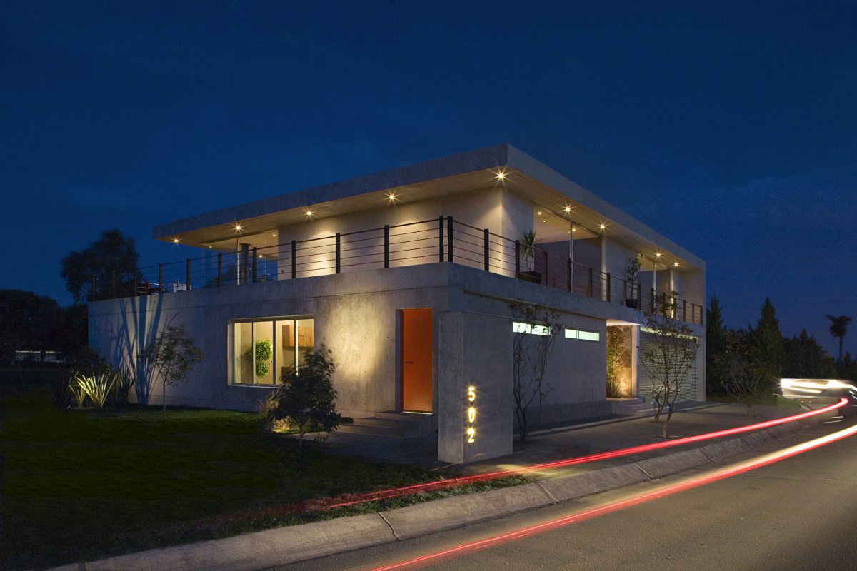 Street View, Lighting, GP House in Hidalgo, Mexico by Bitar Arquitectos