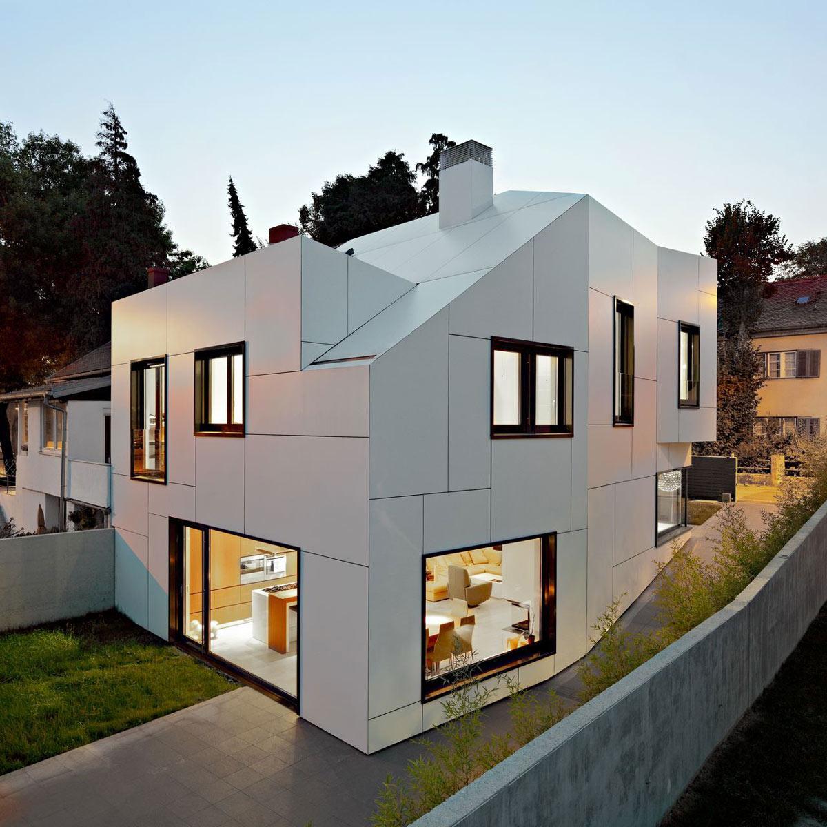 Garden, Terrace, A+A House in Zagreb, Croatia by DVA Arhitekta