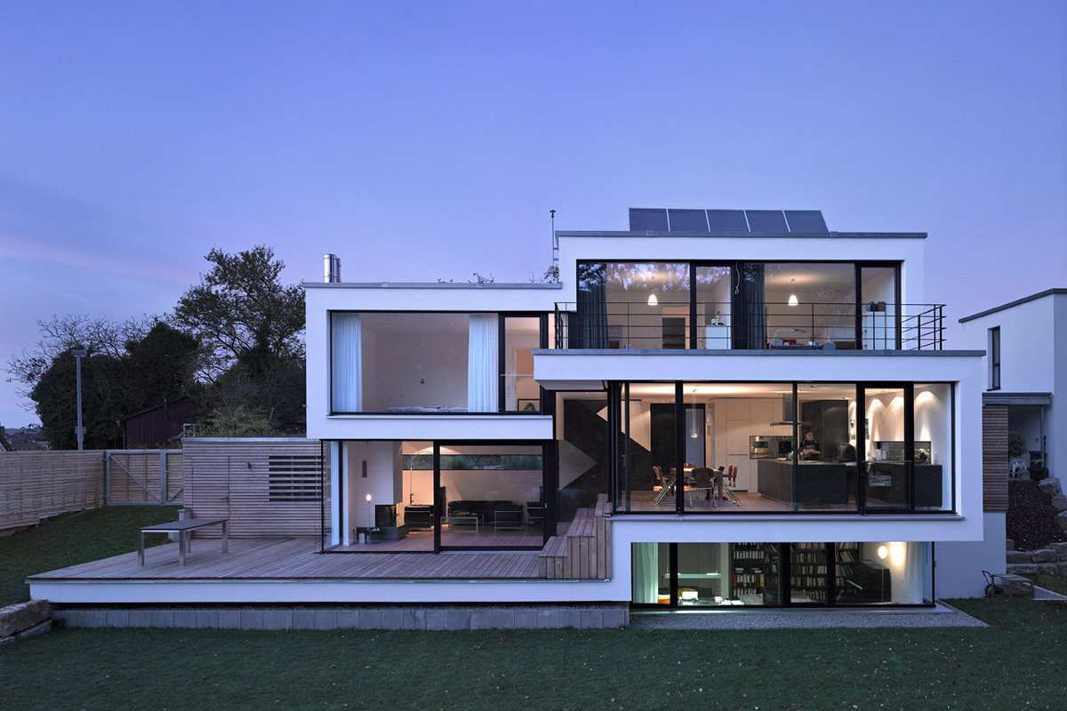 House Zochental in Aalen, Germany by Liebel Architekten BDA