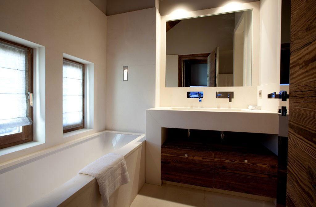 Bathroom, Iced Winter Apartment by Bo Design