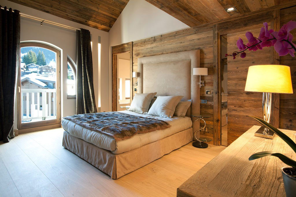 Bedroom, Iced Winter Apartment by Bo Design