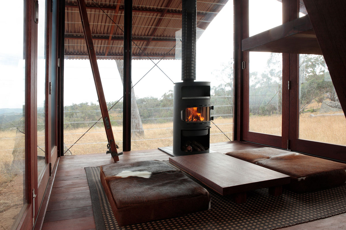 Fireplace, Living Space, Mudgee Tower, New South Wales, Australia