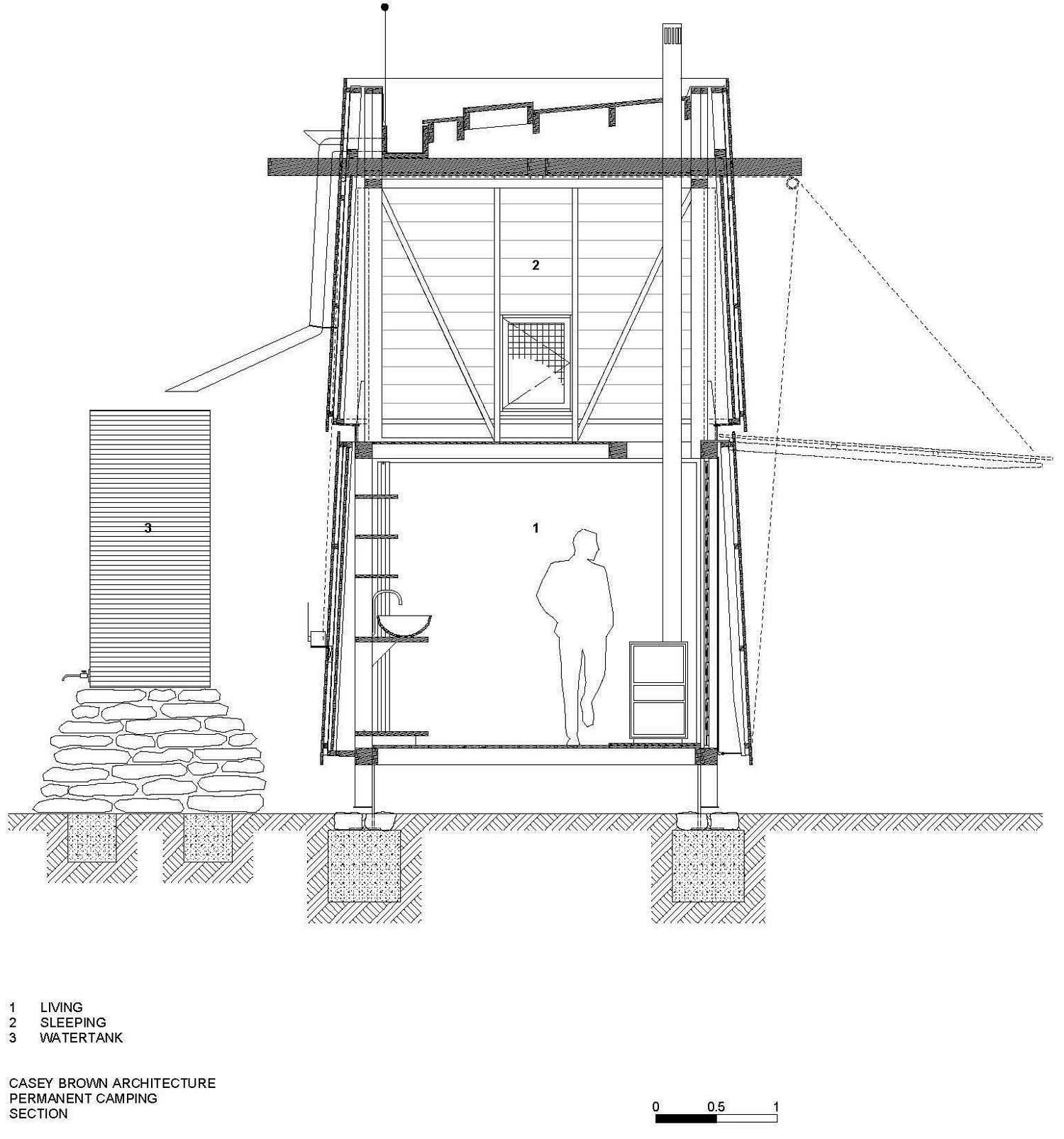 Section, Mudgee Tower, New South Wales, Australia