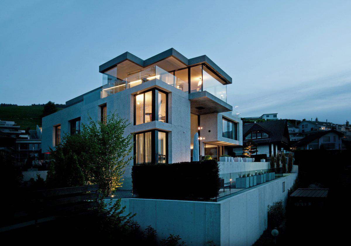 Villa Wohnen in Schindellegi, Switzerland by SimmenGroup