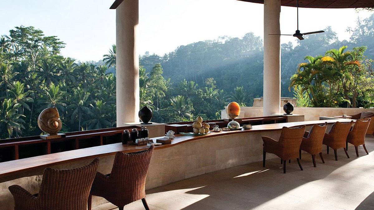 Bar, Four Seasons Resort Bali in Sayan, Bali