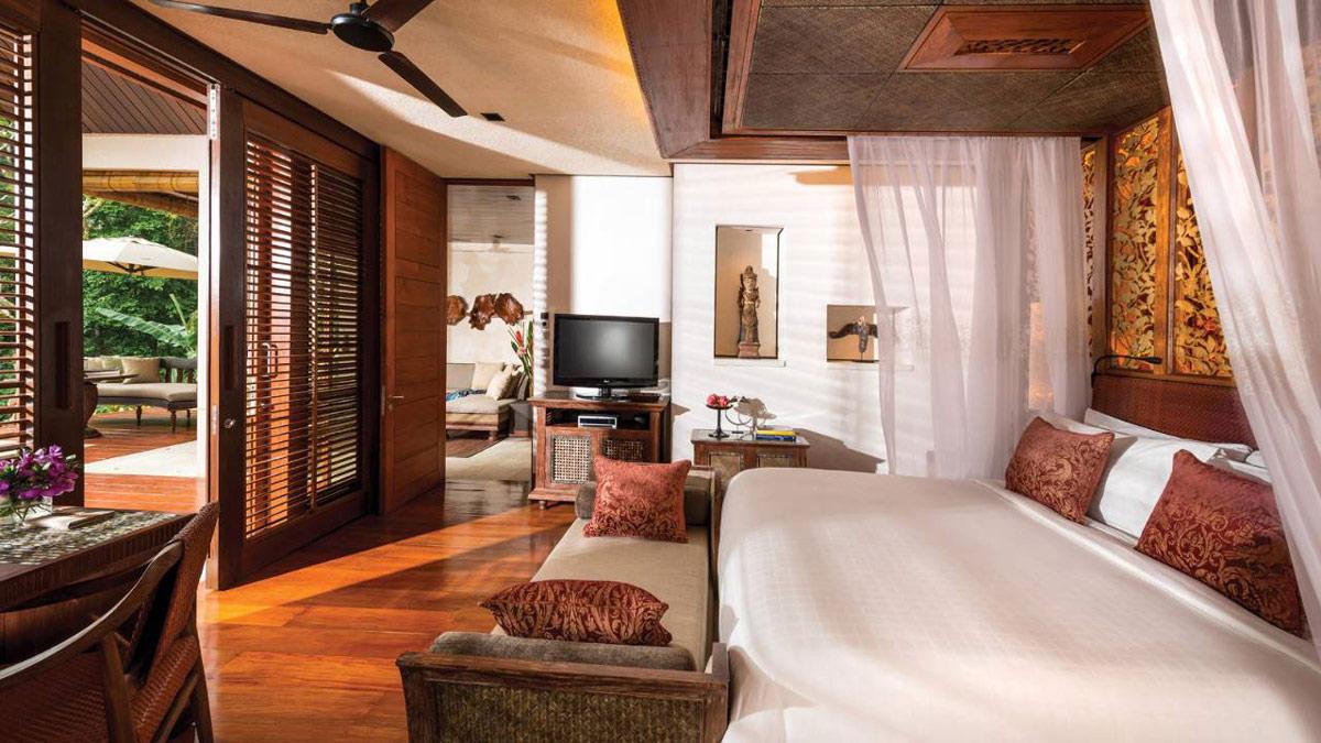 Wooden Flooring, Four Seasons Resort Bali in Sayan, Bali