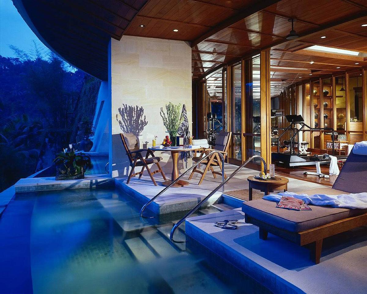 Gym, Pool, Terrace, Four Seasons Resort Bali in Sayan, Bali