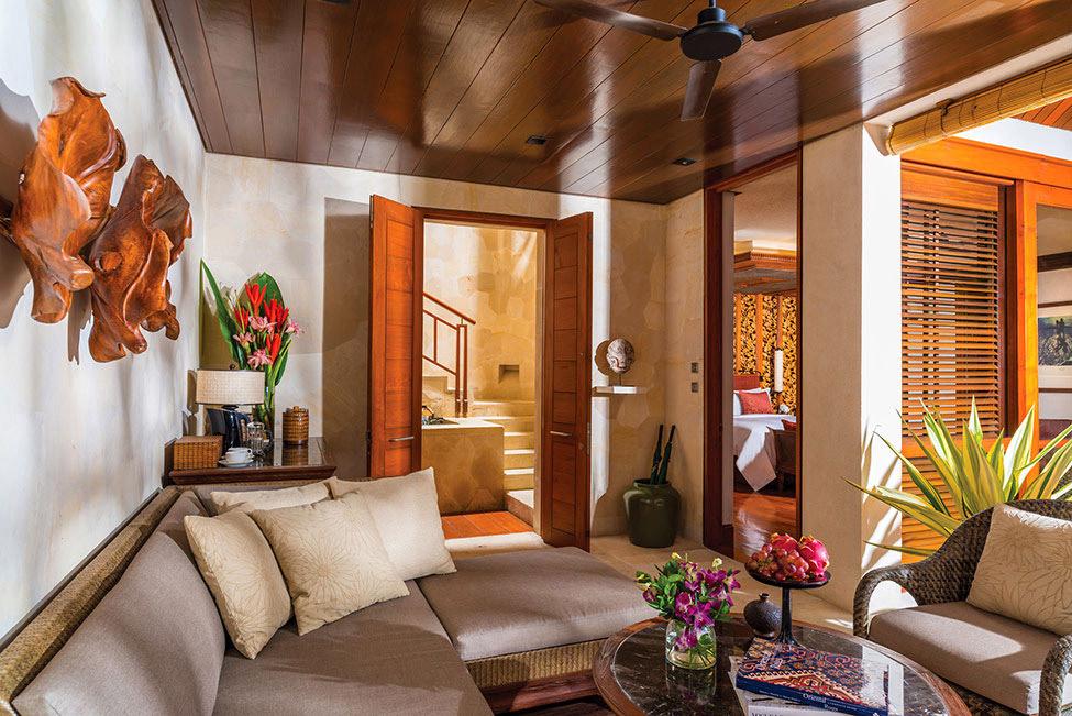 Living Space, Four Seasons Resort Bali in Sayan, Bali