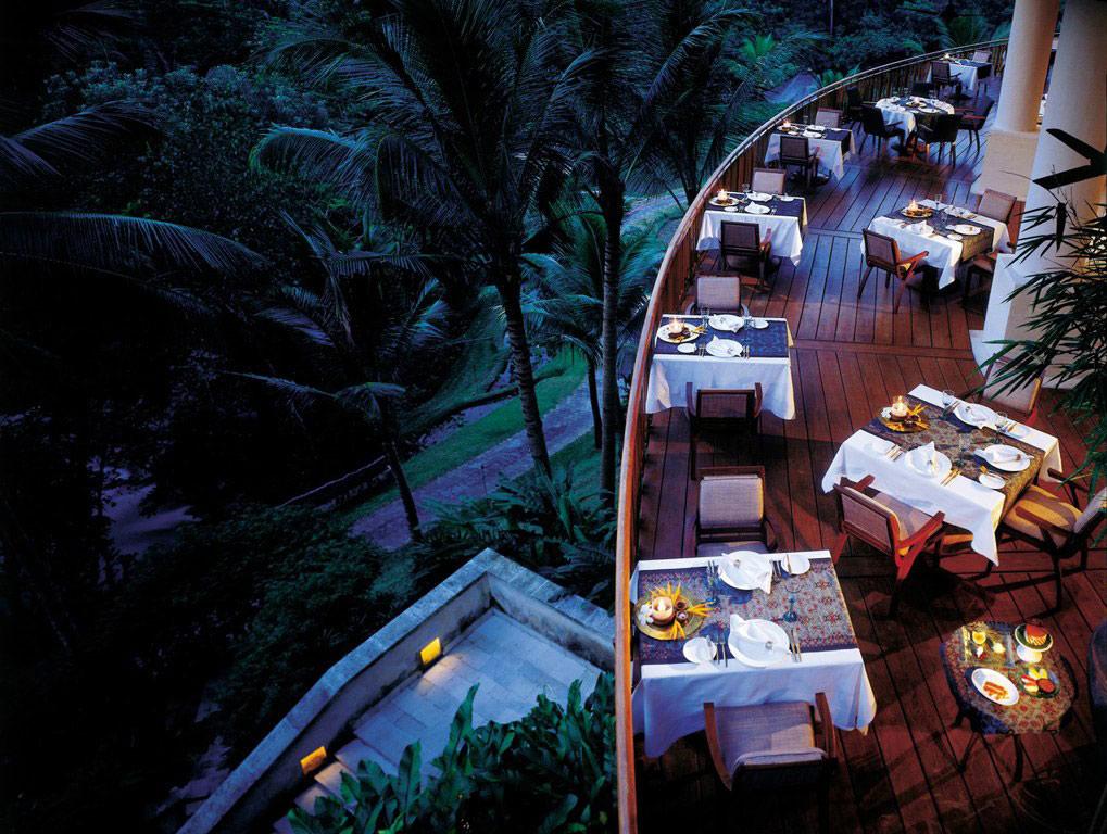 Restaurant, Dining Balcony, Four Seasons Resort Bali in Sayan, Bali