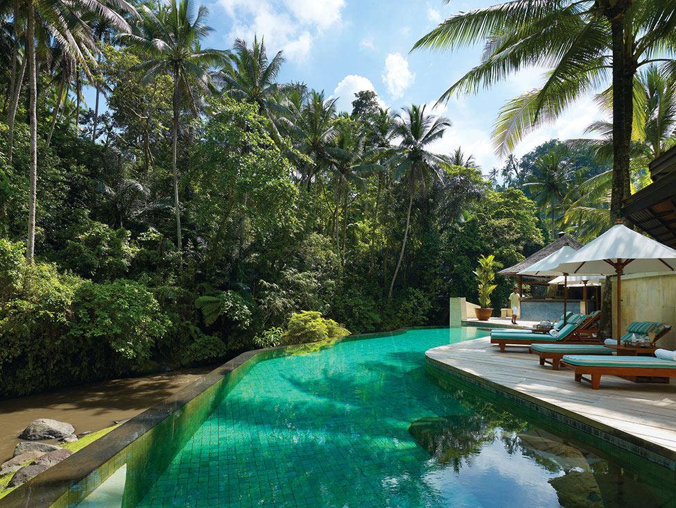 Infinity Pool, Four Seasons Resort Bali in Sayan, Bali