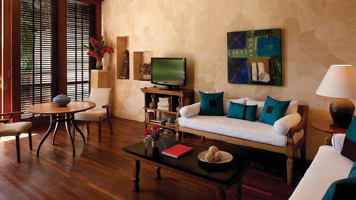 Sofa, Living Space, Four Seasons Resort Bali in Sayan, Bali