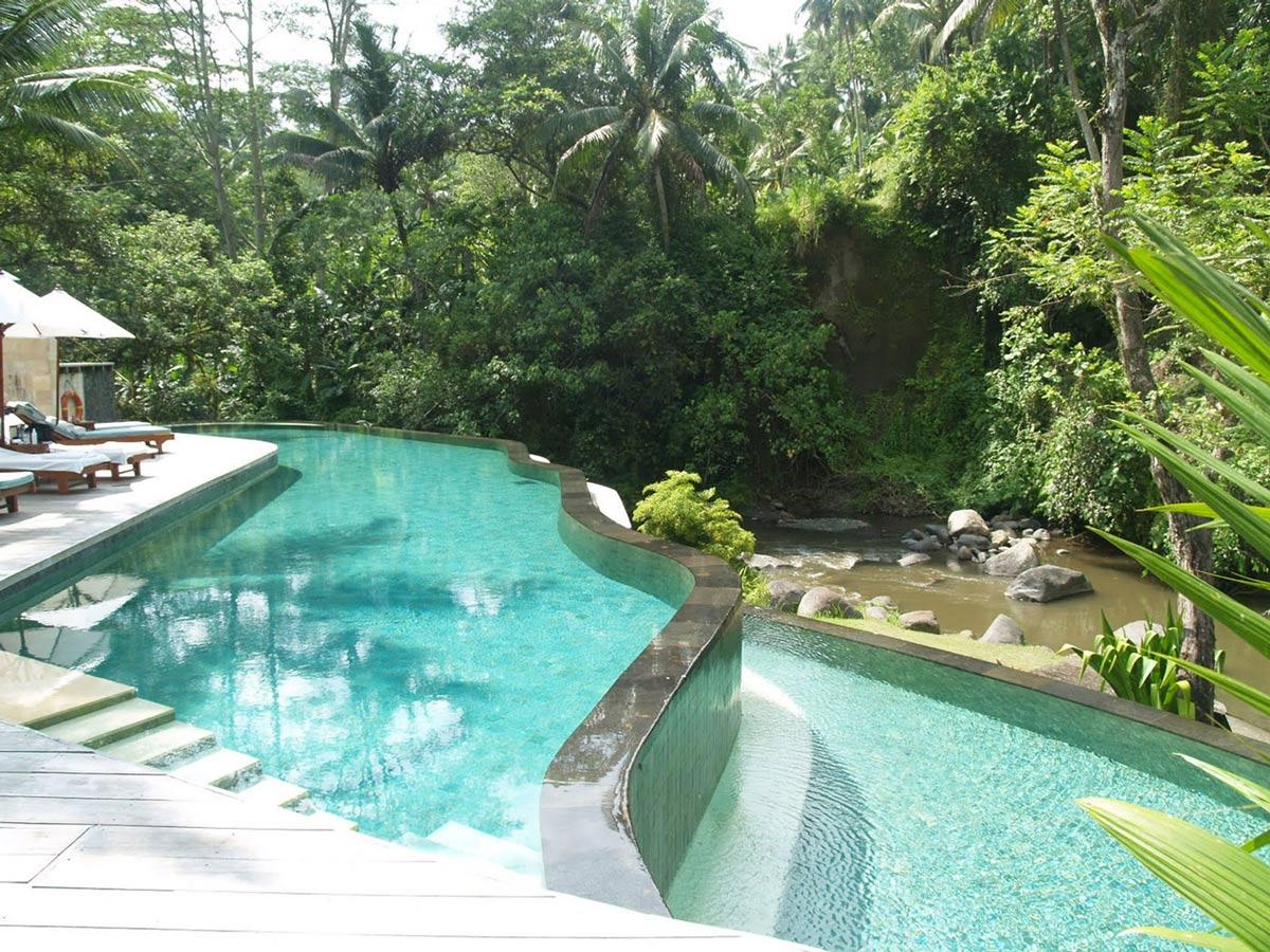 Split-Level Pool, Four Seasons Resort Bali in Sayan, Bali