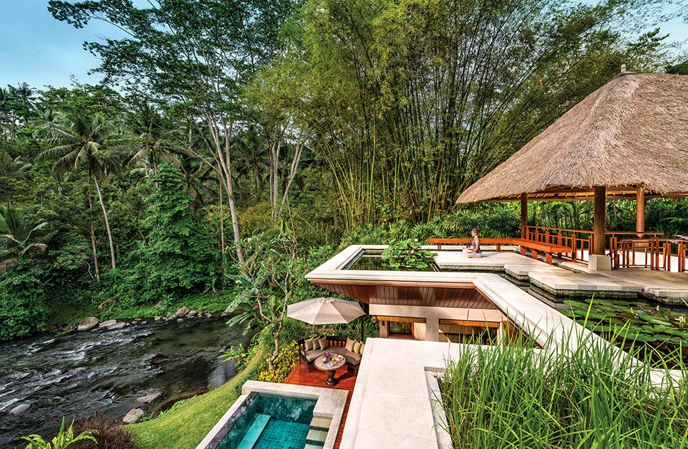 Four Seasons Resort in Sayan, Bali