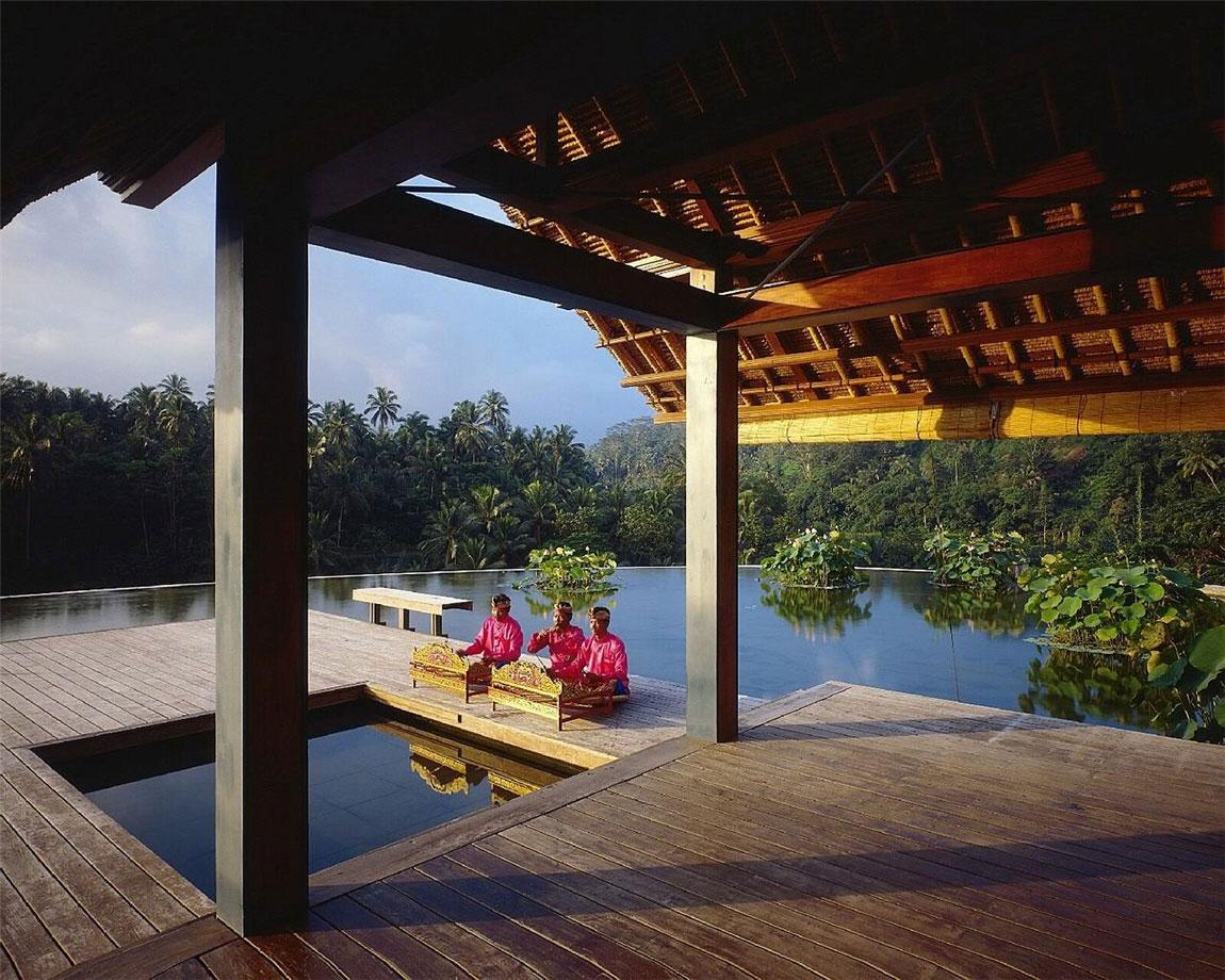 Water Feature, Four Seasons Resort Bali in Sayan, Bali