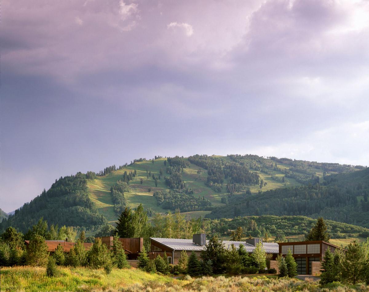 Mountain Views, Imposing Contemporary Home in Aspen, Colorado