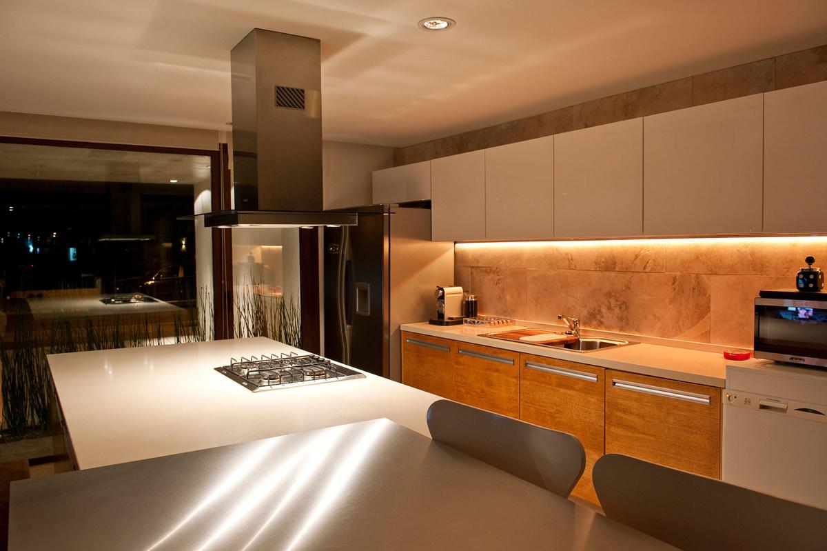 Modern Kitchen, Modern House in Buenos Aires, Argentina