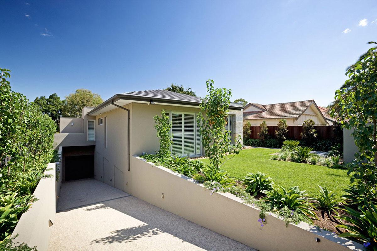Driveway, Garage, Home in Canterbury, Australia