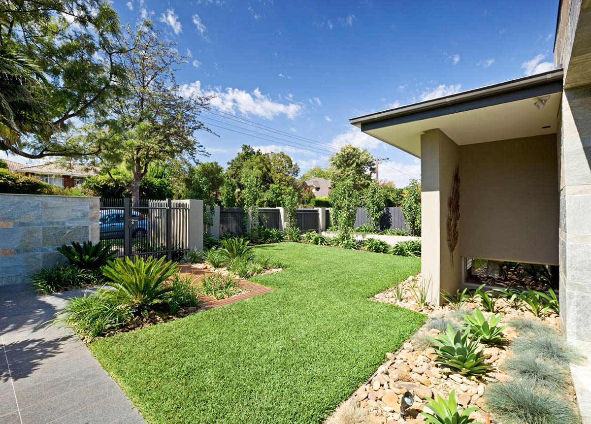 Lawn, Home in Canterbury, Australia