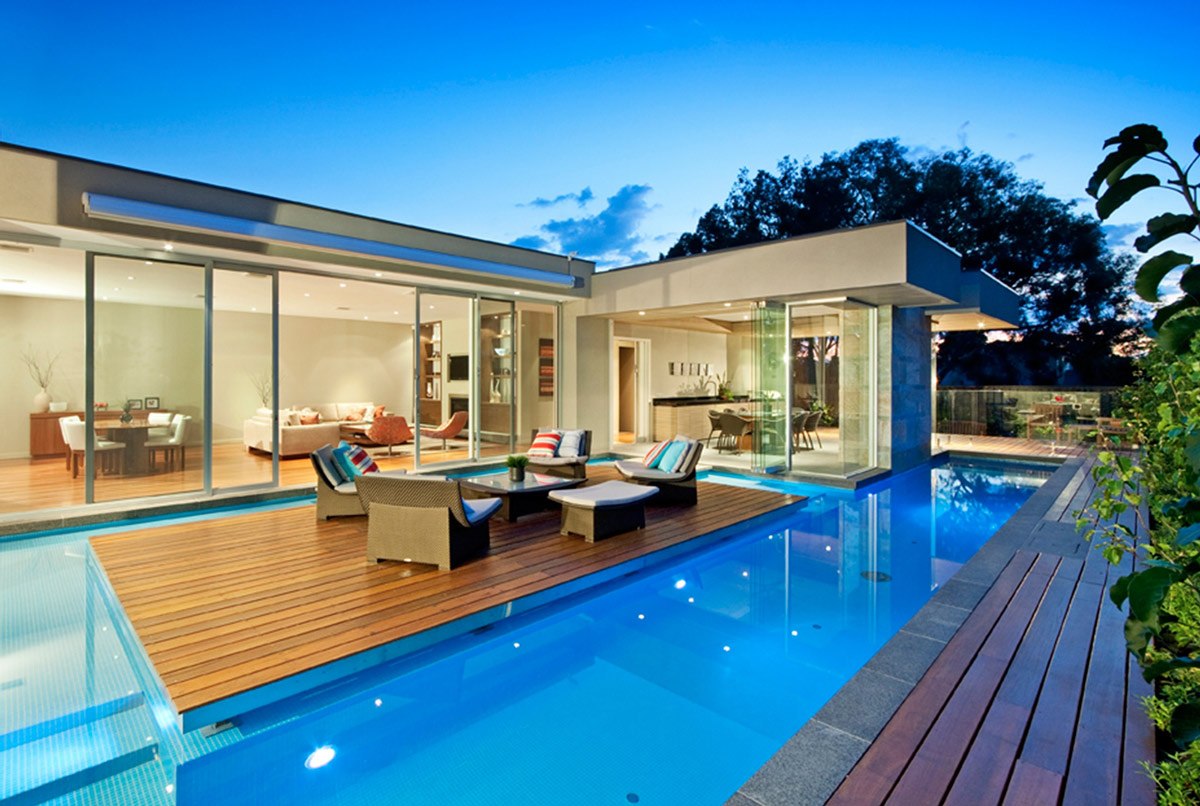 Island, Patio Doors, Home in Canterbury, Australia