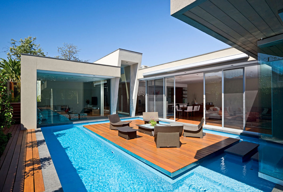 Pool, Island, Home in Canterbury, Australia