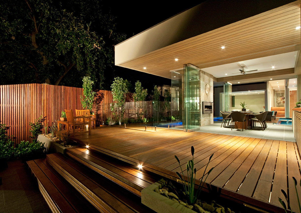 Wooden Decking, Home in Canterbury, Australia