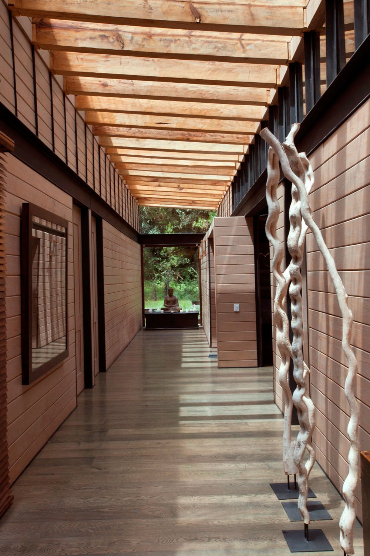 Bright Hallway, Stunning Home in Valle de Bravo, Mexico