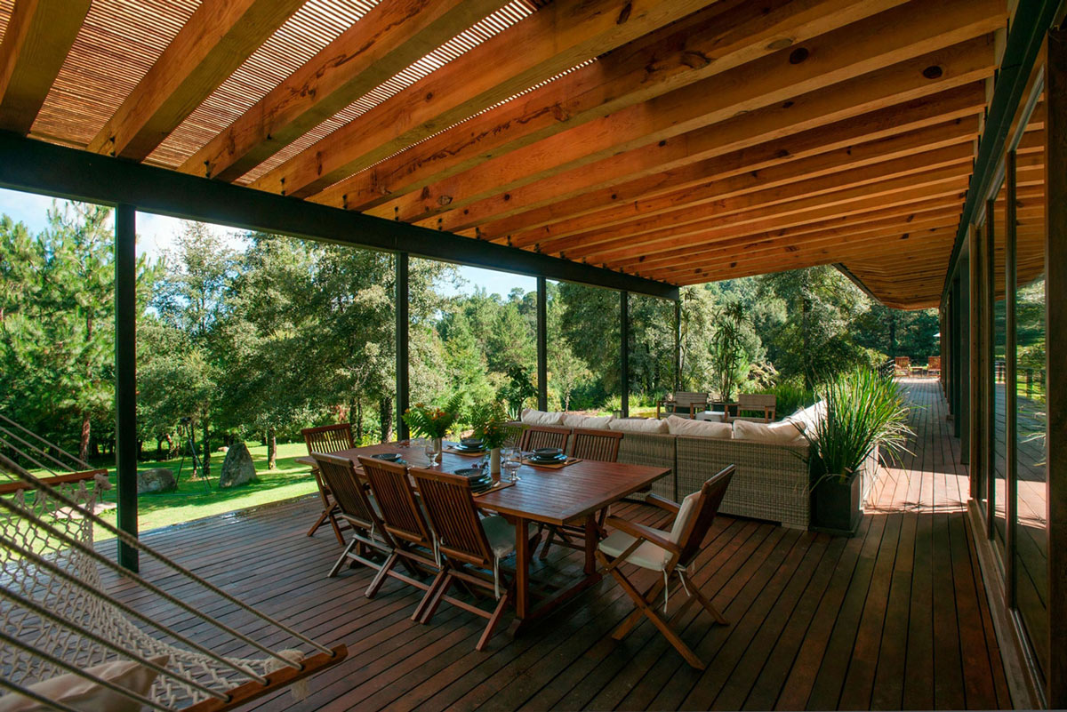 Dining Table, Terrace, Stunning Home in Valle de Bravo, Mexico