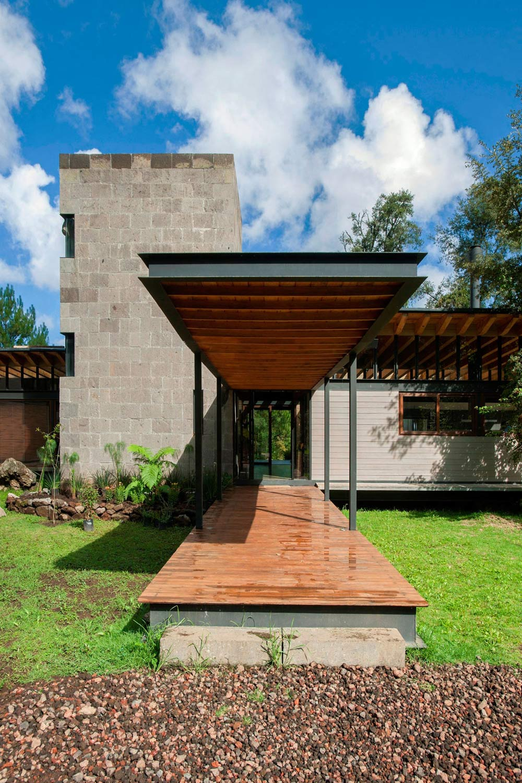 Entrance, Veranda, Stunning Home in Valle de Bravo, Mexico
