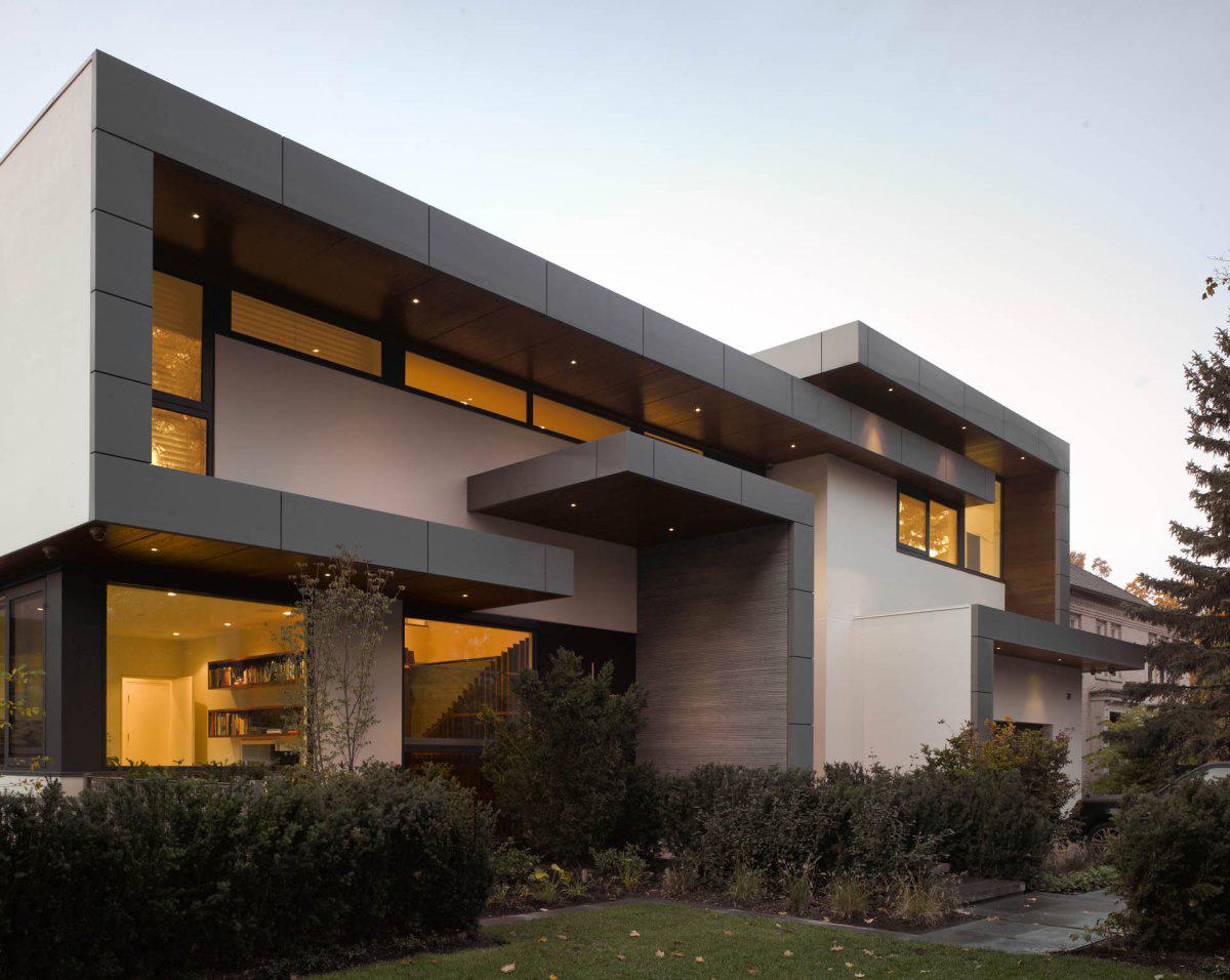 Architecture, Impressive Modern Home in Toronto, Canada