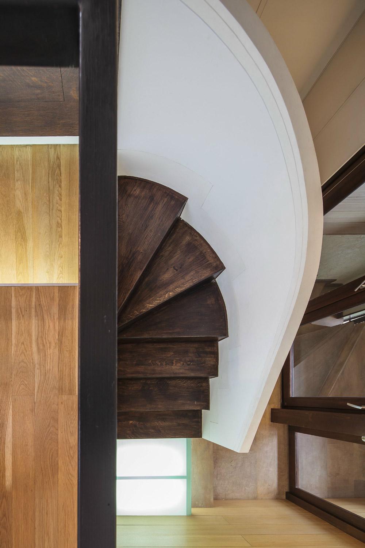 Staircase, Loft in Bucharest, Romania by TECON