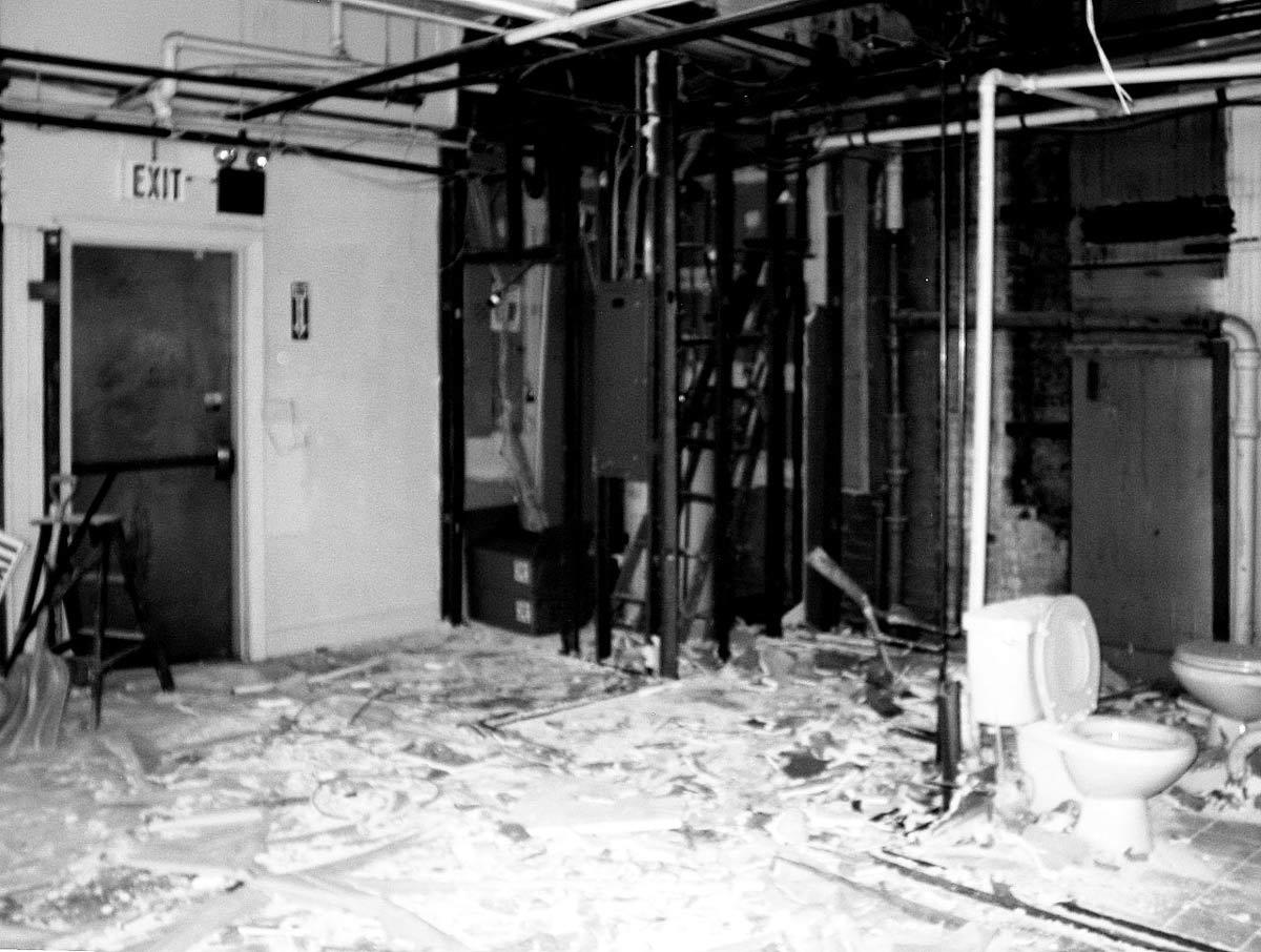 Before, Loft Renovation in Rhode Island, USA