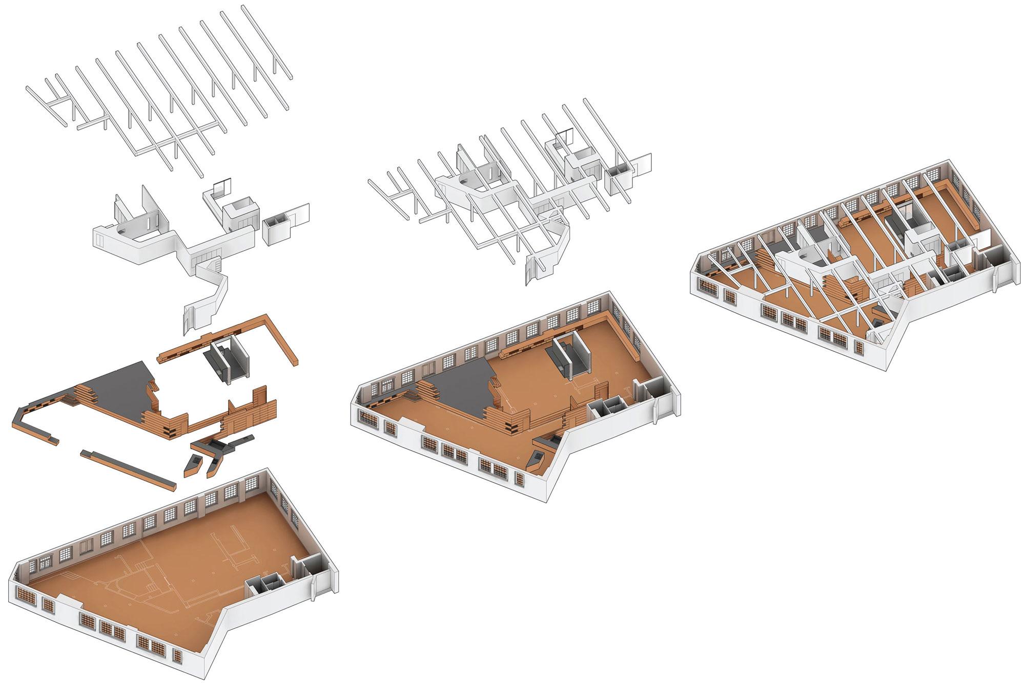 Diagram, Loft Renovation in Rhode Island, USA