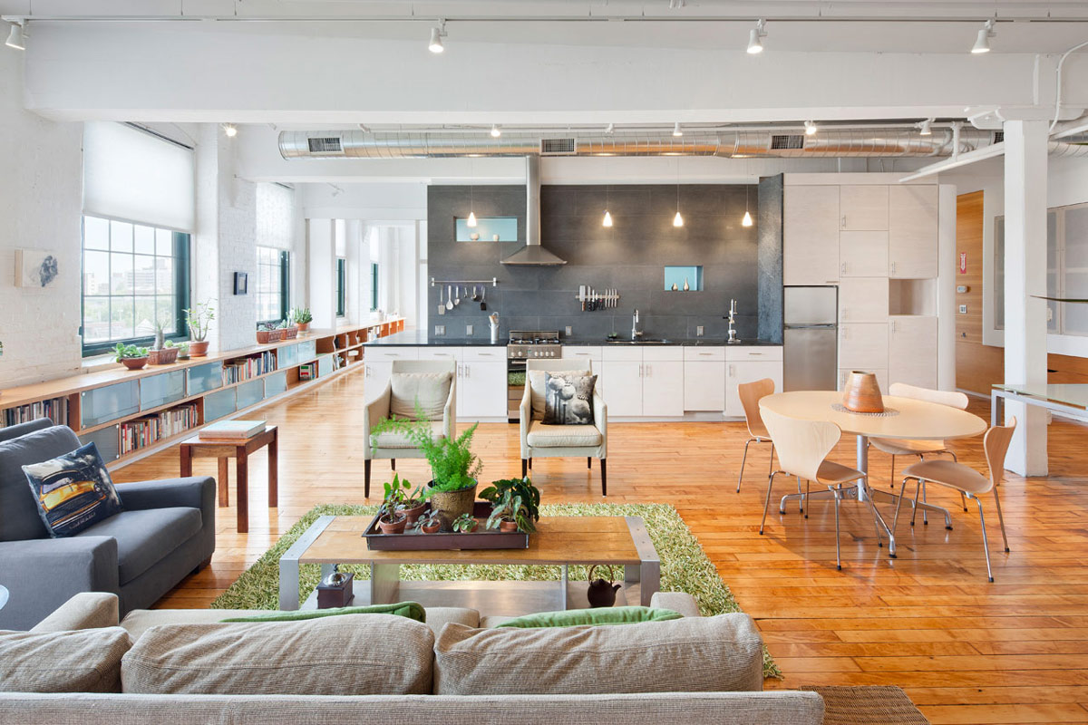 Bright and Spacious Loft in Rhode Island, USA