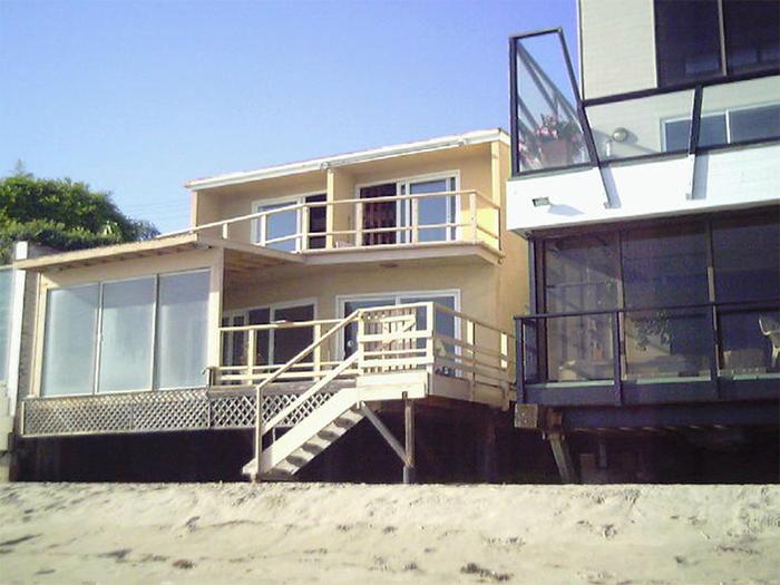 Before, Oceanfront Home in Malibu, California