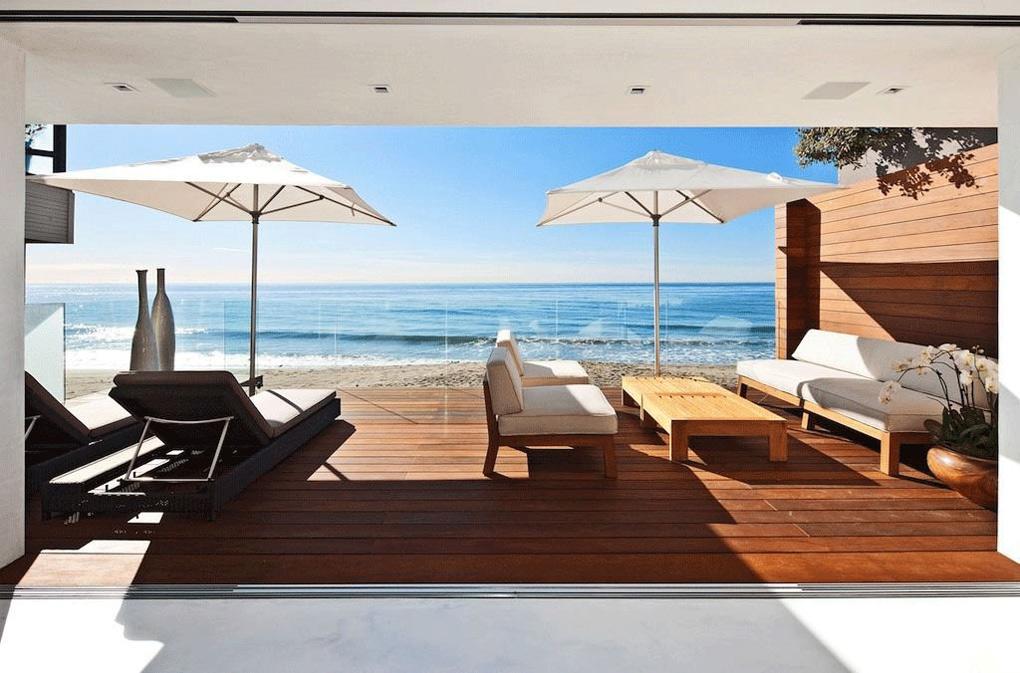 Sea Views, Outdoor Living, Oceanfront Home in Malibu, California