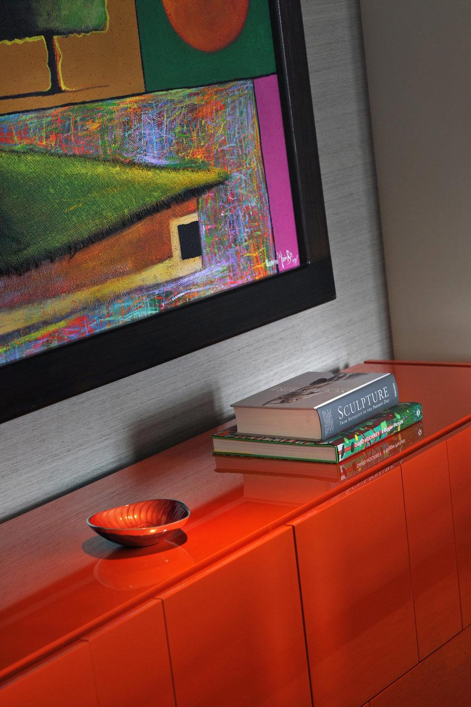 Sideboard, Art, St Pancras Penthouse Apartment in London
