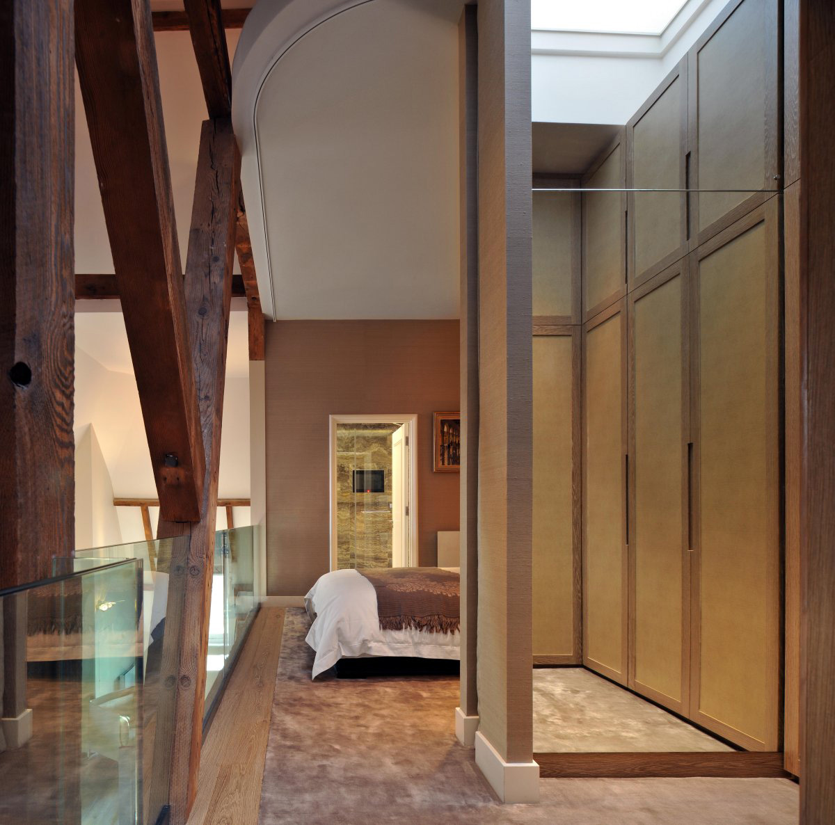 Wardrobes, Mirrors, St Pancras Penthouse Apartment in London
