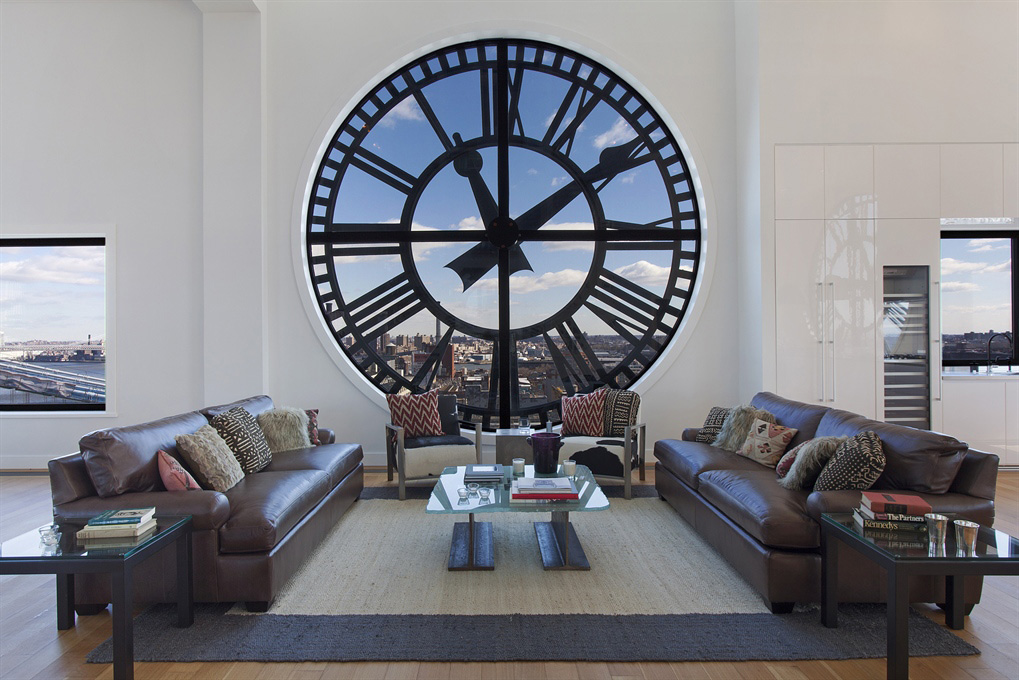Magnificent Penthouse in Brooklyn's Iconic Clock Tower Building