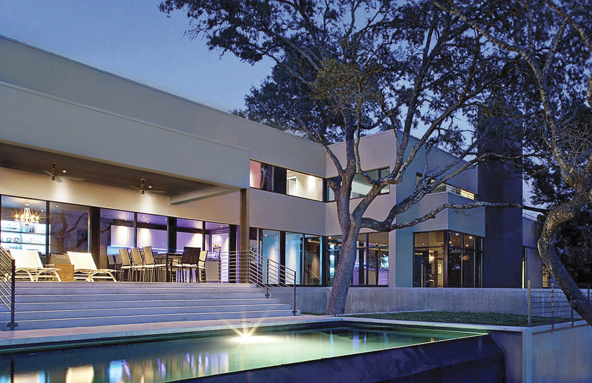 Contemporary Renovation in West Lake Hills, Texas